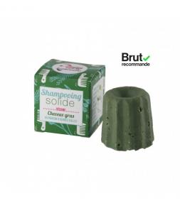Shampoo Solido per Capelli Grassi alle Erbe Folli Senza Oli Essenziali