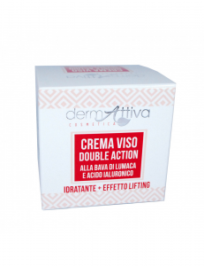 Dermattiva - Crema Viso Double Action Bava di Lumaca e Acido Ialuronico