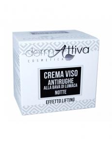 Dermattiva - Crema Viso Antirughe Notte Alla Bava di Lumaca 50 ml