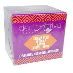 Dermattiva - Crema Viso Jojoba e Argan Giorno e Notte 50 ml