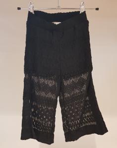Pantalone nero in pizzo, 10A-14A