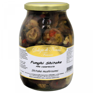Funghi shiitake sott'olio