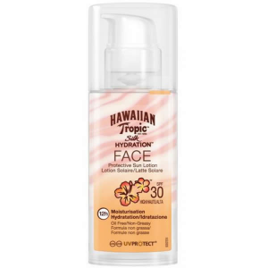 Hawaiian Tropic Silk Hydration Face Protective Sun Lotion Spf30 High 50ml