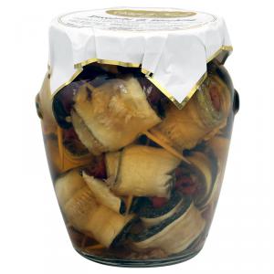 Involtini di zucchine sott'olio