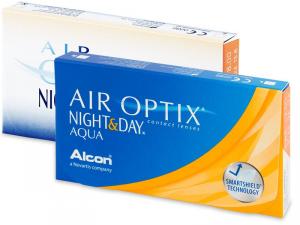 Air Optix Night and Day Aqua (3 lenti)