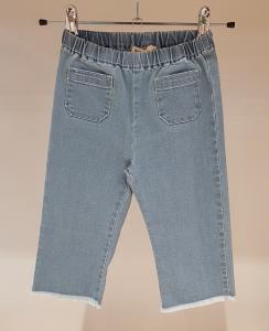 Jeans azzurro con tasche frontali