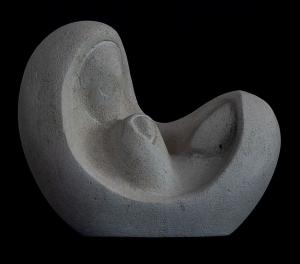 Statua natività da tavolo in pietra leccese lavorato a mano