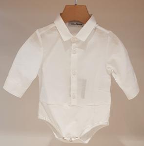 Camicia bianca a body