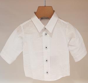 Camicia bianca con righe