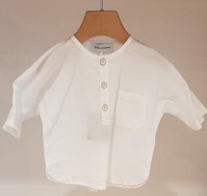Camicia bianca con taschino