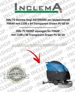 SMx 75 Gomma tergi ANTERIORE per lavapavimenti FIMAP
