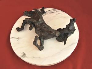Scultura in bronzo di Manuel Campus - CAVALLO