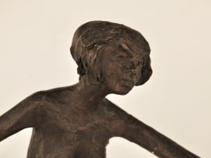 Scultura in bronzo di Manuel Campus - FIGURA DI DONNA