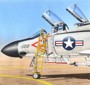 Ladder for F-4 Phantom