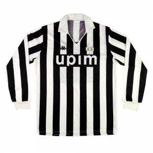 1989-90 Juventus maglia Home #9 XL
