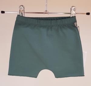 Pantaloncino verde di tuta