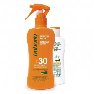 Babaria Sunscreen Lotion Spf30 Spray 200ml Set 2 Parti 2019