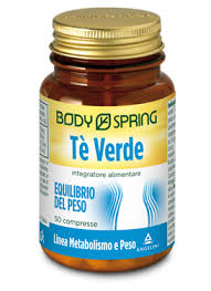 BODY SPRING TÈ VERDE 50 COMPRESSE