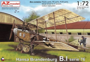 Hansa Brandenburg B.I serie 76
