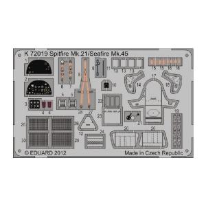 SPITFIRE MK.21/SEAFIRE MK.45