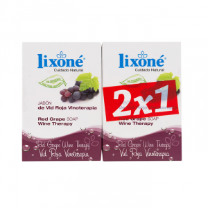 Lixoné Red Grape Soap Wine Therapy 2x125g