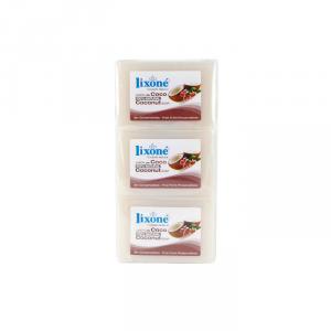 Lixoné Coconut Soap Dry Skin 3x125g
