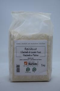Russello Sfarinato di grano duro antico siciliano - Macinato a pietra
