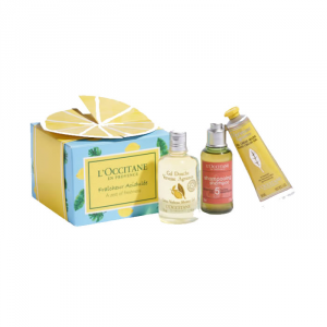 L'Occitane Verveine Agrumes Shower Gel 50ml Set 3 Parti 2019