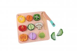 Puzzle verdura da tagliare