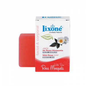 Lixoné Wild Rose Soap Sensitive Skin 125g