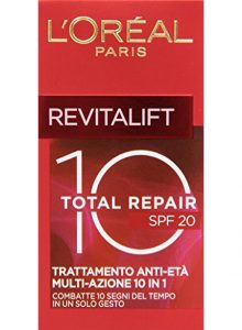 L'Oréal Paris Revitalift Total Repair 10 Crema Viso Anti-Età SPF 20, 50 ml