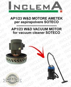 AP1/23 W&D MOTORE ASPIRAZIONE AMETEK per aspirapolvere SOTECO