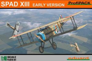 Spad XIII early -Flown by Maj. Francesco Baracca, 91a Squadriglia, Italy, May 1918