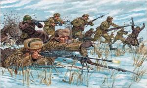 WWII RUSSIAN INFANTRY WIN