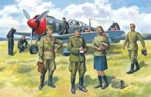 SOVIET AIR FORCE PILOTS