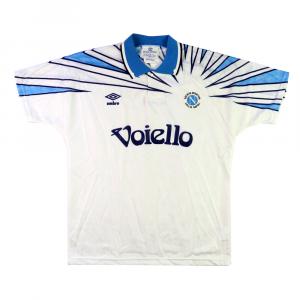 1991-93 Napoli Maglia Away S *Nuova