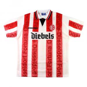 1996-98 Fortuna Dusseldorf Maglia Home XL *Cartellino