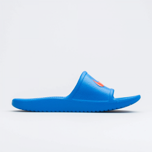 Ciabatta Nike Kawa Shower Gs Ps BQ6831 400 Elettric Blue/red