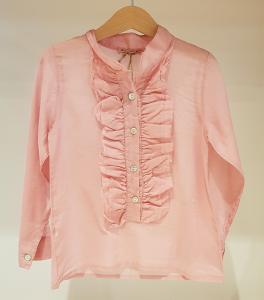 Camicia rosa con rouge
