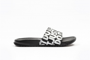 Ciabatta Nike Benassi jdi Print Black/white 631261 024