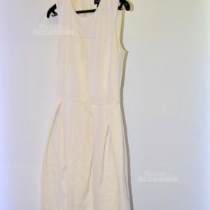 Vestito Donna Armani Jeans Bianco Tg.38