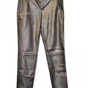 Pantaloni Guess In Pelle Tg.25