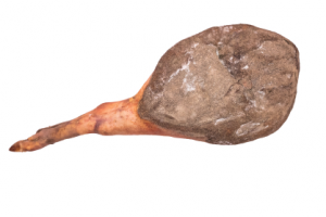 Prosciutto crudo di maiale Grigio del Casentino con osso - stagionato minimo 18 mesi - 9 kg
