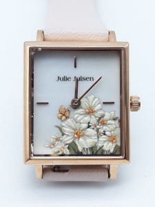 Orologio Donna Julie Julsen jjw102rgl-2 Square Daisy Rosé Light Pink, vendita on line | OROLOGERIA BRUNI Imperia
