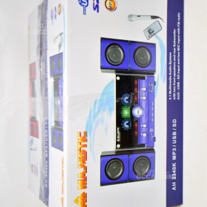 Lettore Mp3 Usb Sd Majestic Con Microfono
