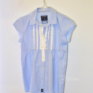 Camicia Donna Azzurra Woolrich Tg S