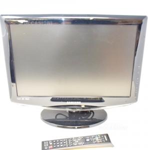 Televisore Samsung Nera Con Decoder