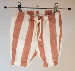Pantalone a righe latte e mattone, 3A-10A