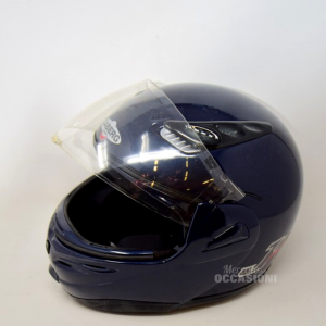 Casco Caberg Blu Con Accessori