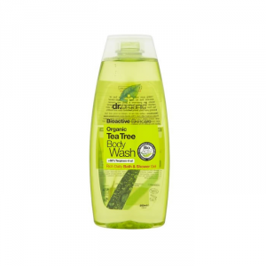 Dr Organic Tea Tree Bath And Shower Gel 250ml